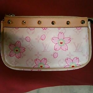 Louis vuitton cherry blossom clutch